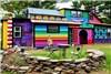 خانه هایی فانتزی برای علاقمندان به فضاهای شاد