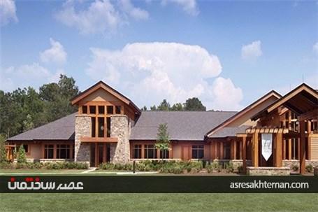 معماری و طراحی داخلی خانه سالمندان ویلسون