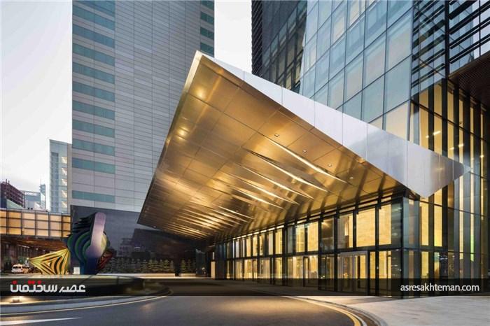 تلفیق هنر معماری و سازه در برج PARANS