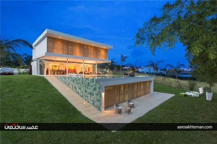 طراحی مینیمالیستی خانه - گالری در کلمبیا