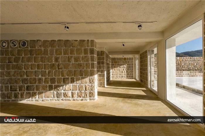 طراحی ویلا چشم چران رتبه اول جایزه معمار 96