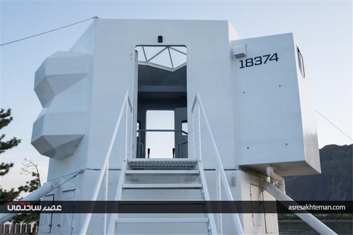 خانه 23 متری شبیه فضاپیما