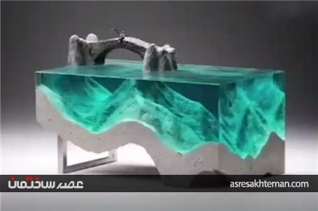 مجسمههایی بسیار زیبا که از شیشه و بتن ساخته شده اند!