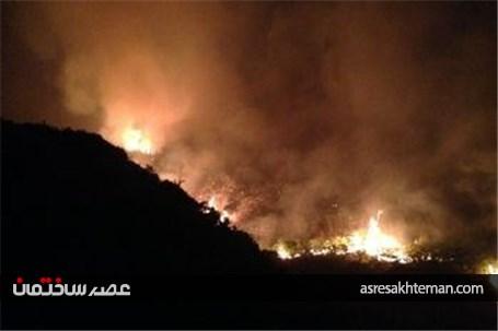 34خانه در آتشسوزی منچستر انگلیس تخلیه شد +عکس