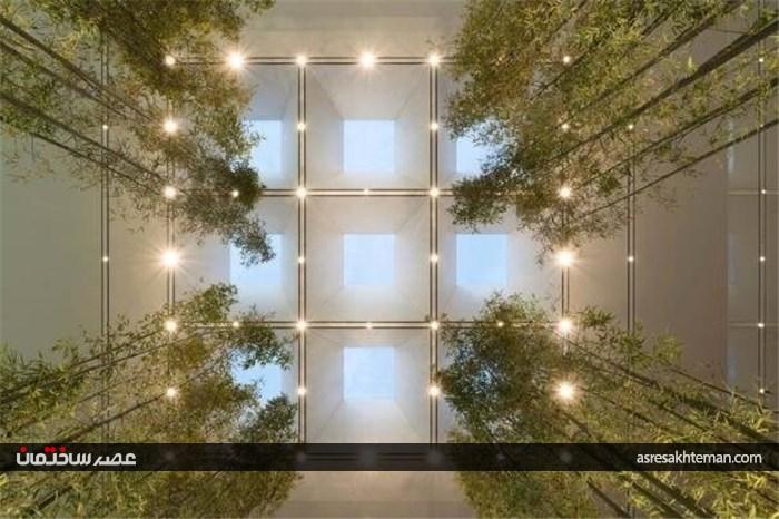 ساختمان جالب اپل استور در چین