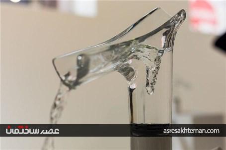 شیر آب شیشه ای را تماشا کنید