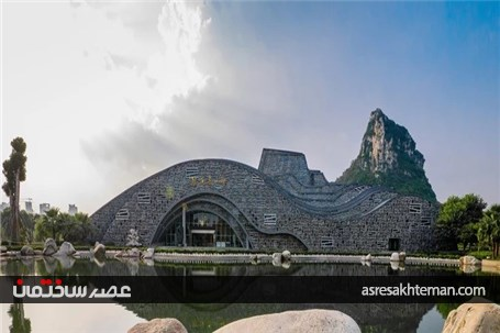 سویسیکی هال تداعی مجسمه های سنگی چینی