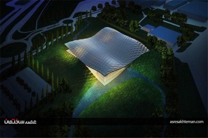 """استفاده از """"انرژی خورشیدی"""" در طراحی یک پاویون"""