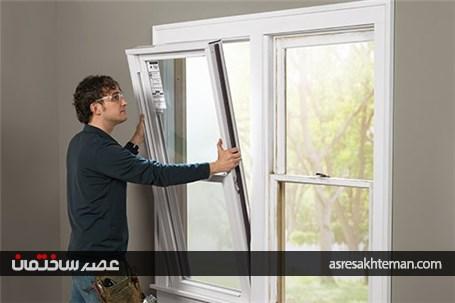 کالبد شکافی پنجره upvc