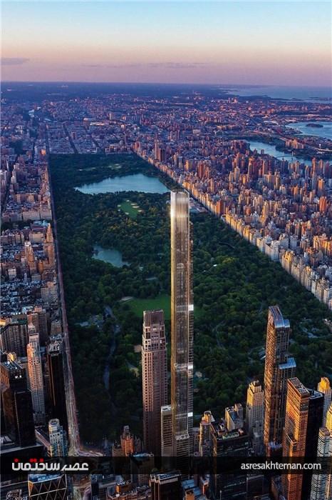 آسمانخراش قطب شمال نیویورک، بلند ترین ساختمان جهان