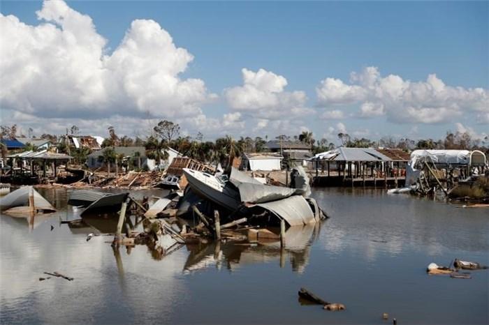 تصاویر باورنکردنی از ویرانهای که طوفان مایکل در آمریکا به جا گذاشت