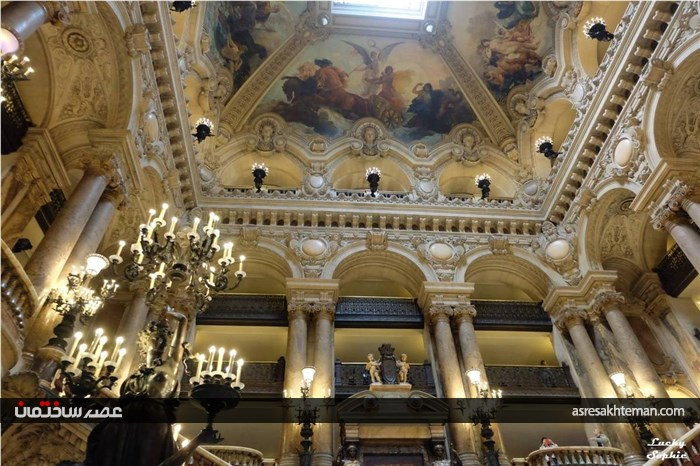 اپرای گارنیر شکوه هنر قرن 16 فرانسه
