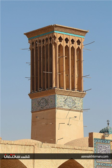 بادگیر شکوه معماری ایرانی