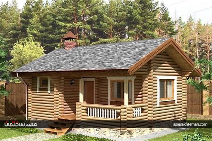 خانه های چوبی به کمک صنعت ساخت و ساز آمدند