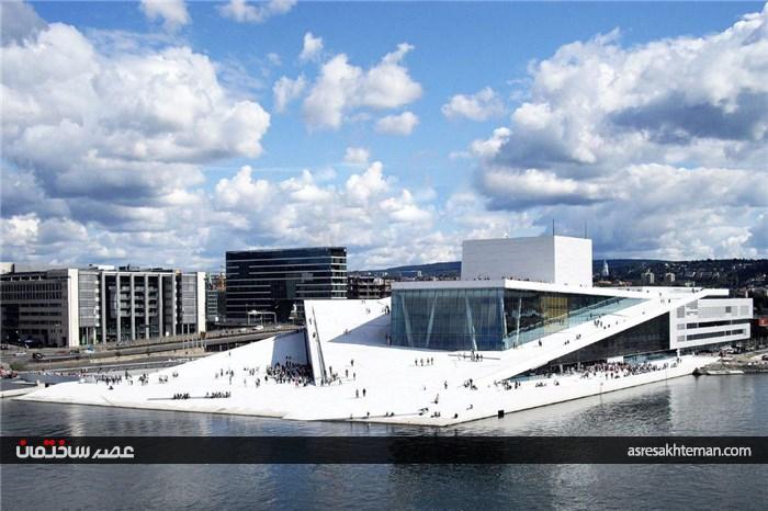 خانه اپرای اسلو نروژ