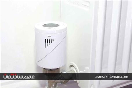 شیر ترموستاتیک رادیاتور راه حل مصرف بهینه انرژی