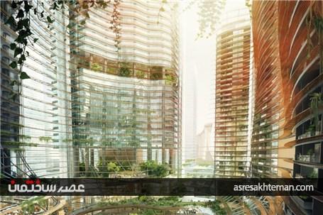قلب سبز سنگاپور در پروژه Marina One