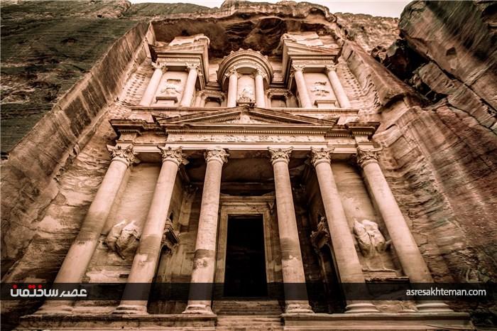 شهر پترا یکی از عجایب هفتگانه جدید