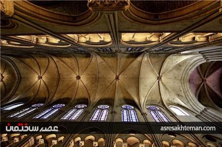 کلیسای نوتردام، قسمتی از تاریخ اروپا در آتش