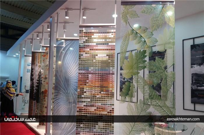 گزارش تصویری یازدهمین نمایشگاه بینالمللی در و پنجره و صنایع وابسته