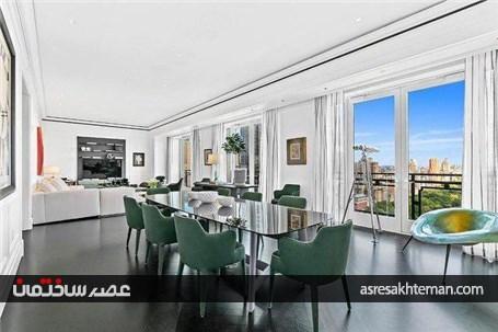 تصاویری از گرانترین خانه اجارهای در آمریکا