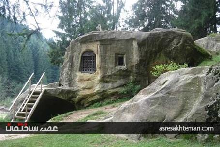 خانه صخره ای محبوب توریست ها!
