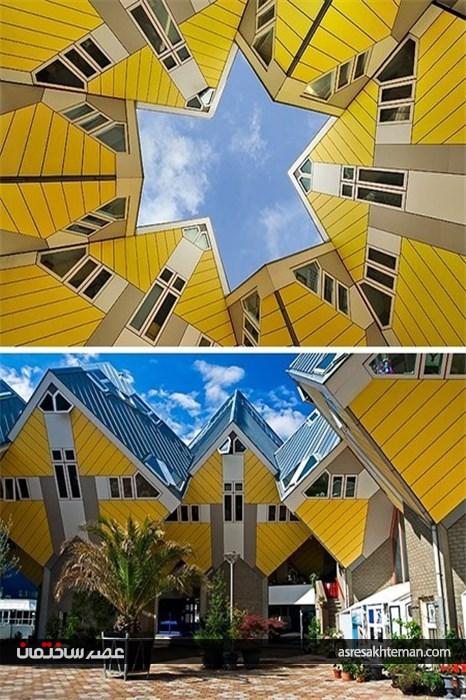 ساختمانهایی شگفتانگیز که انگار متعلق به یک جهان دیگرند!