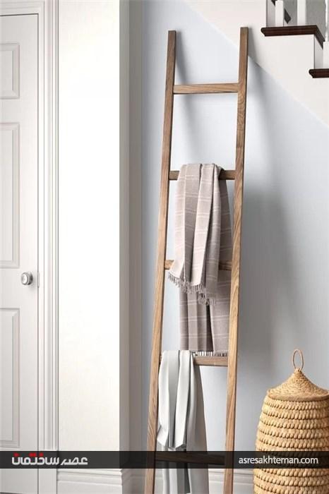 نردبان تزیینی در دکوراسیون منزل
